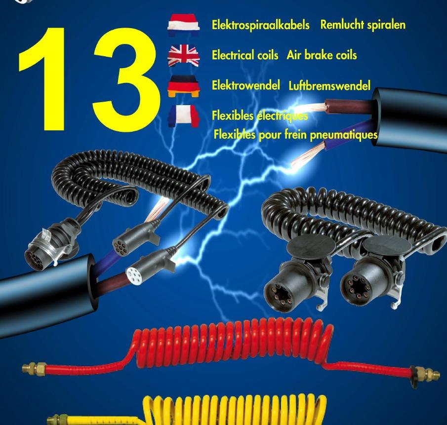 Spiraal kabels