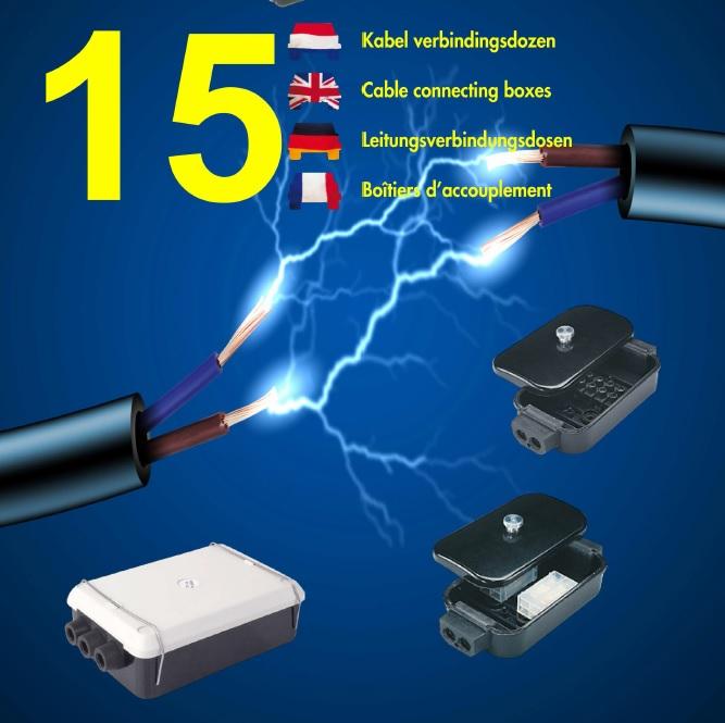 Kabel verbindingsdozen accessoires