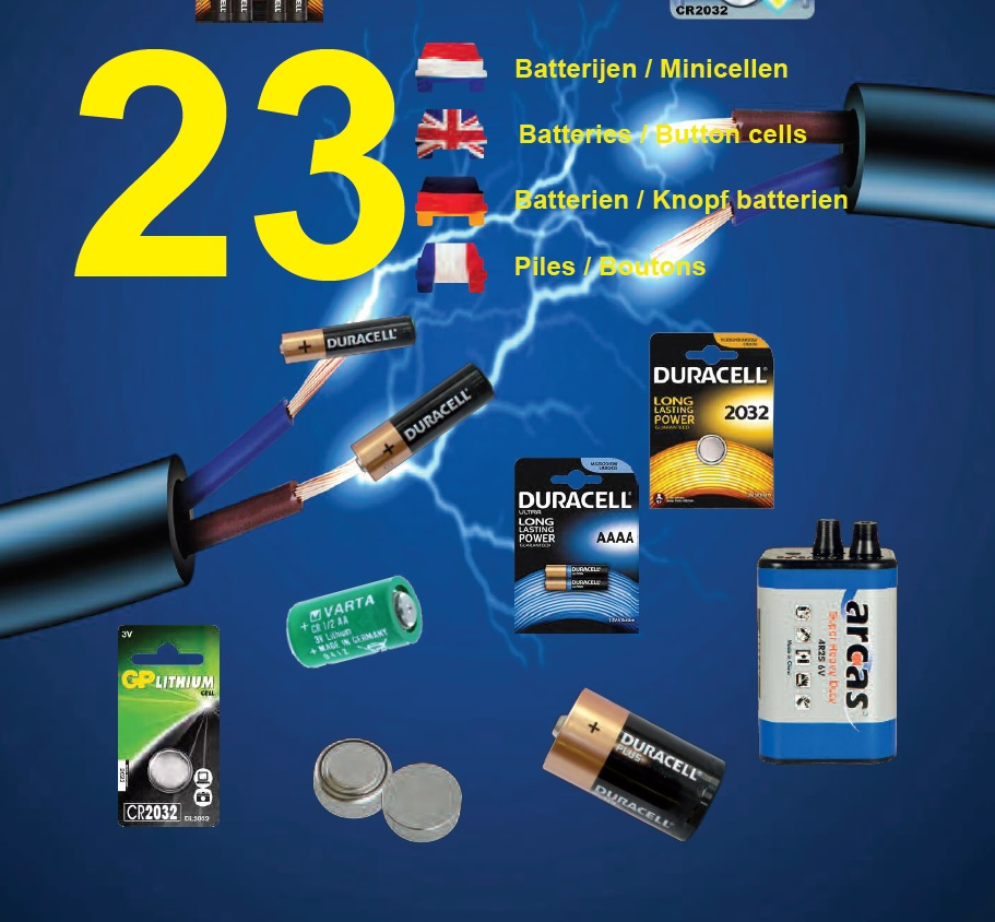 Batterijen / minicellen